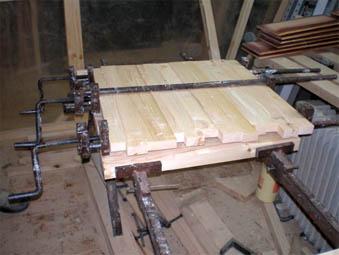 Пресс для склейки дерева своими руками 25